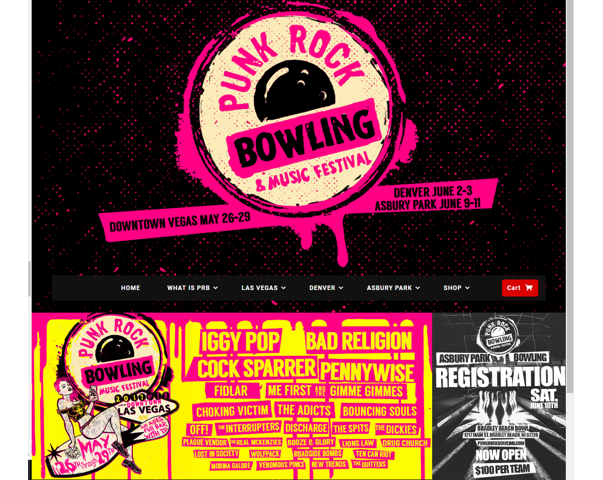 Punk Rock Bowling and Music Festival