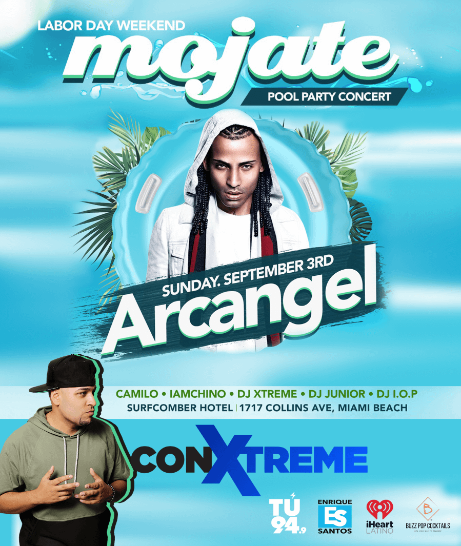 Mojate Pool Party South Beach
