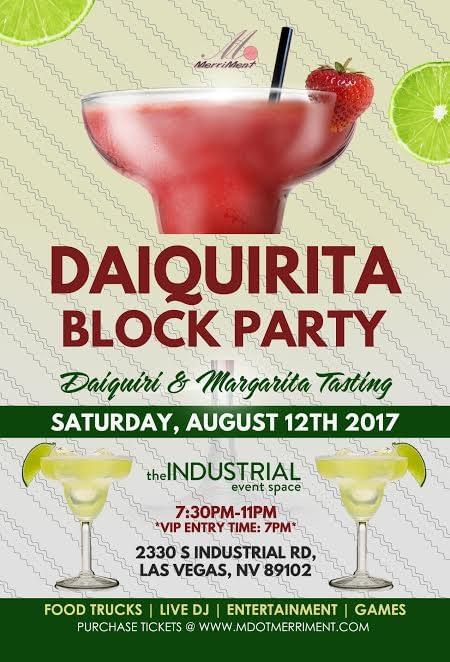 Las Vegas Daiquirita Block Party
