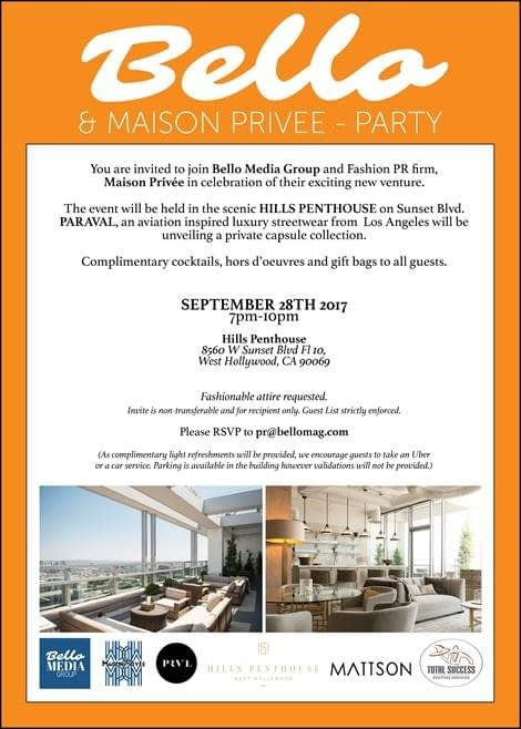 Belo & Maison Prive Launch Party