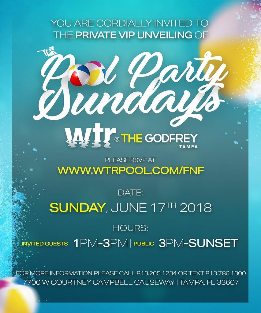 WTR Tampa - Godfrey Hotel & Cabanas - Buzz Pop Cocktails
